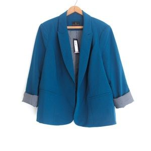 375d86bd861 Worthington Jackets   Coats - NEW! Worthington Plus Size Teal Blazer Jacket